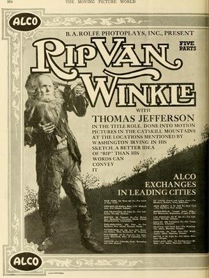 Фильм «Рип покидает Сонную лощину» (1896)