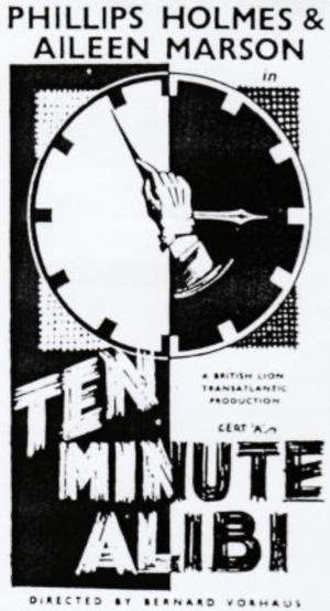 Фильм «Ten Minute Alibi» (1935)