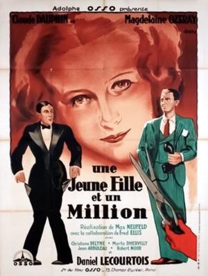 Фільм «Une jeune fille et un million» (1932)