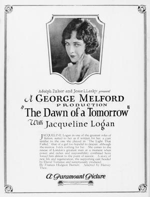 Фільм «Зоря завтрашнього дня» (1924)