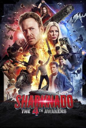 Фільм «Акулячий торнадо 4: Четверте пробудження» (2016)