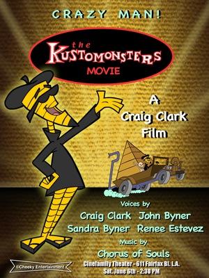 Мультфильм «The Kustomonsters Movie» (2015)