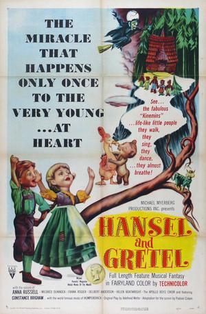 Мультфильм «Гензель и Гретель» (1954)