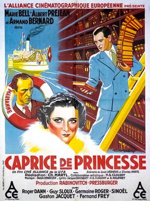 Фільм «Каприз принцессы» (1934)