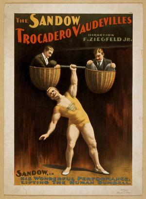Фільм «Сэндоу, современный Геркулес» (1894)