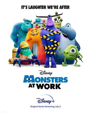 Серіал «Монстри на роботі» (2021 – ...)