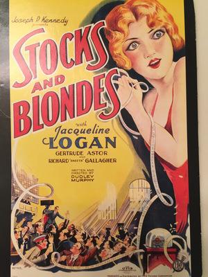 Фільм «Stocks and Blondes» (1928)