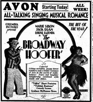 Фільм «The Broadway Hoofer» (1929)