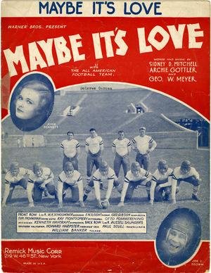 Фильм «Maybe It's Love» (1930)