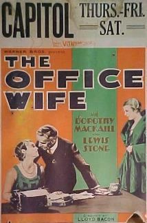 Фильм «The Office Wife» (1930)