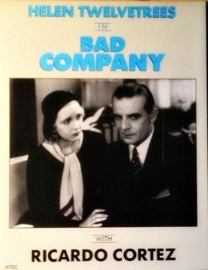 Фільм «Погана компанія» (1931)
