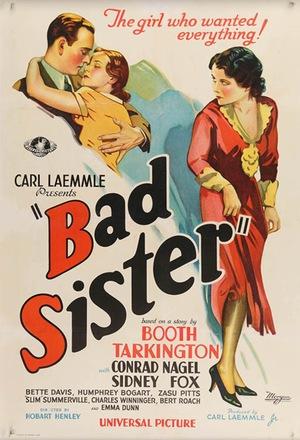 Фильм «Плохая сестра» (1931)