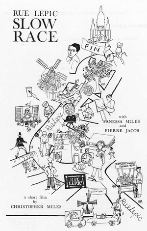 Фільм «Rue Lepic Slow Race» (1967)