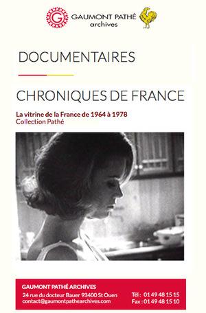 Сериал «Хроники Франции» (1964 – 1978)