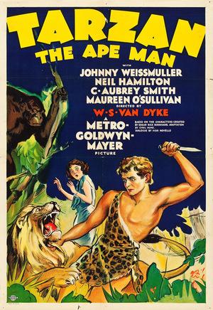 Фільм «Тарзан человек Обезьяна» (1932)