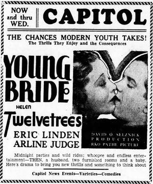 Фільм «Молодая невеста» (1932)