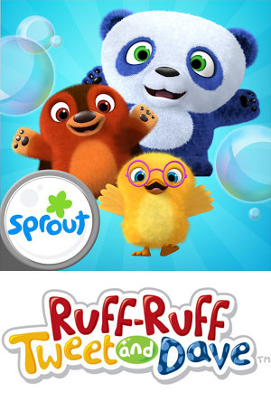 Серіал «Ruff-Ruff Tweet and Dave» (2015)