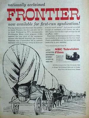Серіал «Frontier» (1955 – 1956)