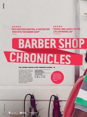 Фильм «National Theatre Live: Barber Shop Chronicles» (2018)