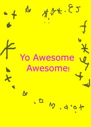 Сериал «Yo Awesome Awesome!» (2000 – 2004)