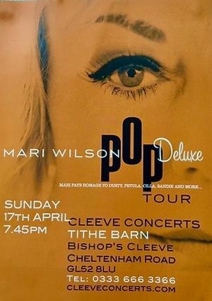 Фільм «Pop Deluxe Live! - Mari Wilson» (2016)
