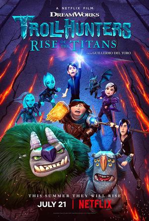 Мультфільм «Мисливці на тролів: Повстання титанів» (2021)