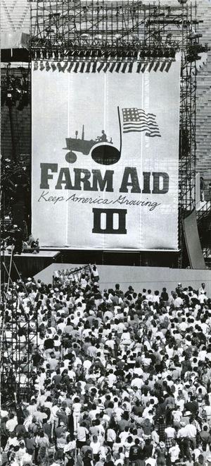 Фильм «Farm Aid '87» (1987)