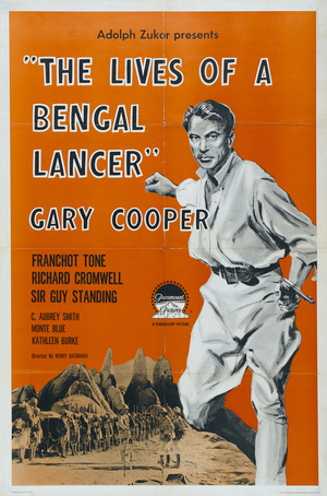 Фильм «Жизнь бенгальского улана» (1935)