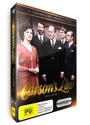 Серіал «Carson's Law» (1983 – 1984)