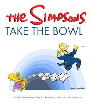 Мультфильм «The Simpsons Take the Bowl» (2014)
