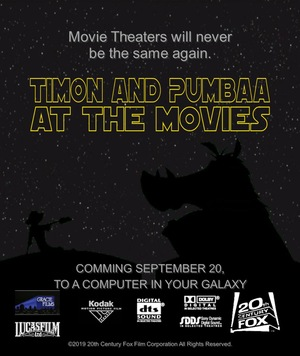 Серіал «Timon and Pumbaa at the Movies» (2019 – ...)