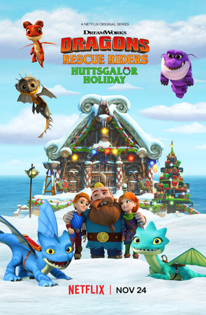 Мультфільм «Dragons: Rescue Riders: Huttsgalor Holiday» (2020)