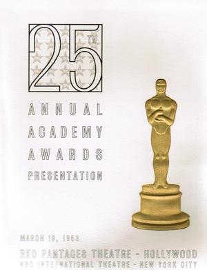 Фільм «25-я церемония вручения премии «Оскар»» (1953)