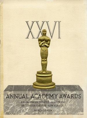 Фільм «26-я церемония вручения премии «Оскар»» (1954)