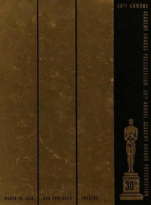 Фільм «30-я церемония вручения премии «Оскар»» (1958)