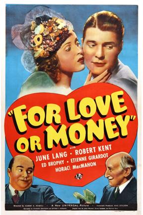 Фильм «For Love or Money» (1939)