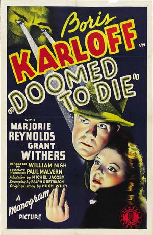 Фільм «Приречений вмерти» (1940)