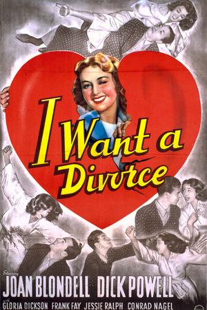 Фільм «Я хочу развестись» (1940)