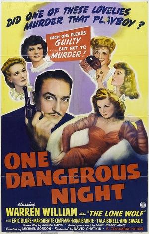 Фільм «One Dangerous Night» (1943)