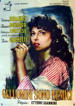 Фільм «Мужчины-враги» (1948)
