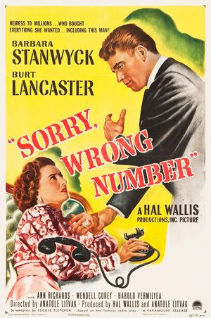 Фильм «Извините, ошиблись номером» (1948)