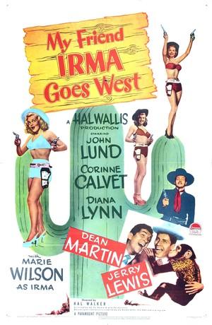 Фильм «Моя подруга Ирма едет на Запад» (1950)