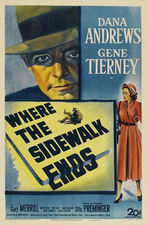 Фильм «Там, где кончается тротуар» (1950)