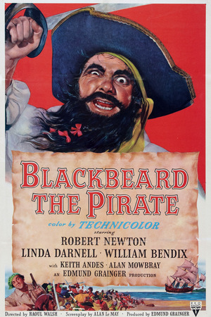 Фільм «Черная Борода, Пират» (1952)