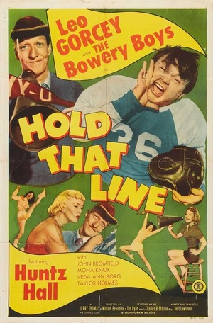 Фільм «Считают, что линия» (1952)