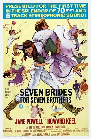 Фильм «Семь невест для семи братьев» (1954)