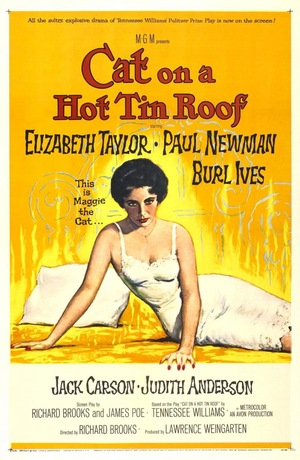 Фільм «Кішка на розпеченому даху» (1958)