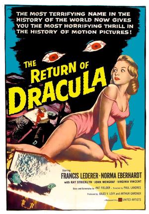 Фильм «Возвращение Дракулы» (1958)