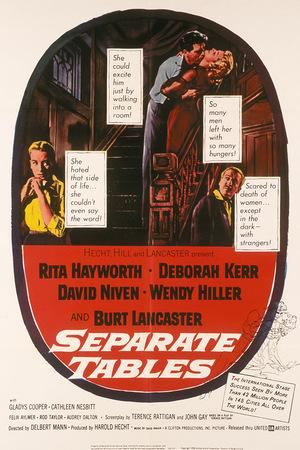 Фільм «За окремими столиками» (1958)