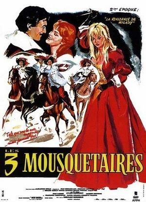 Фільм «Троє мушкетерів: Частина друга - Помста Міледі» (1961)